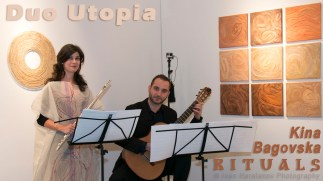 Zhivko Nikolov & Margarita Nikolov - duo UTOPIA at ARC Gallery, Chicago